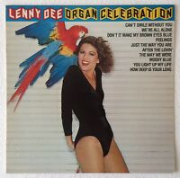 [BEE GEES COVER] LENNY DEE ~ ORGAN CELEBRATION ~ 1978 UK VINYL LP RECORD [Ref.1]