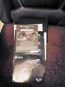 Xbox One Elite Series 2 Wireless Controller - Black New Warranty Replacement