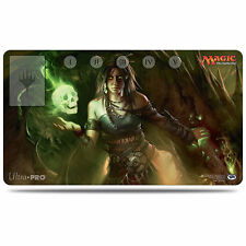 MTG MEREN GREEN SKULL COMMANDER PLAYMAT ULTRA PRO FOR MAGIC THE GATHERING CARDS