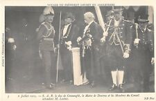 More details for b91724  the visit of presdent loubet in england military london uk  connaught 3