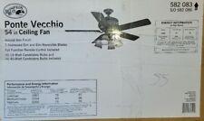 "Hampton Bay Ponte Vecchio 54"" Ceiling Fan (55)"
