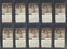 Sports In Plastic Sleeves Collectable Cigarette Cards