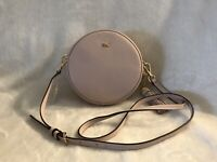 Michael Kors Mid Canteen Bag Leather Crossbody Soft Pink MSRP $158 New With Tags