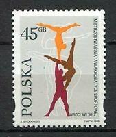 36030) Poland 1995 MNH Acrobatic SPORTS World