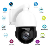 5MP PTZ IP Camera HD 2592x1944 Pan/Tilt 30xZoom Speed Dome Camera IR 80M-EX Ship