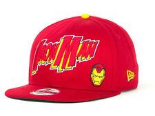 Iron Man Marvel Comics Snapback New Era 9Fifty Adjustable Flat Bill Brim Hat Cap