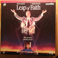 Leap Of Faith Widescreen Laserdisc  Buy 6 for free shipping