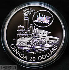 The Scotia - 2001 Canada $20 Sterling Silver Coin - Transportation Series