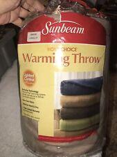 Reduced! Shipping! Sunbeam Warming Throw Nip Lighted Control - 3 Settings