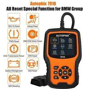 Autophix 7910 OBD2 Scanner Diagnostic Full System ABS/SRS/SAS/EPB reset For BMW