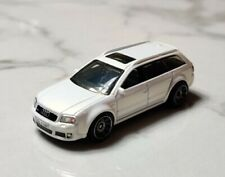 Matchbox 1-75 1:64 Audi RS6 Estate Pearl White Wheels MINT Loose