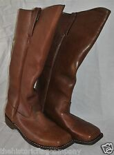 Cavalry Boots - Sizes 8-14 - Brown Leather - 6 To 8 Week Delivery - Civil War