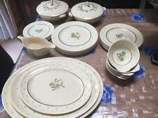 30 Pieces Grays Pottery Sunbuff  1930 In Good Conditions