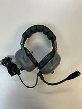TELEX HEADPHONES AIR 3500  MADE IN USA HEADSET HEAD PHONES AVIATION