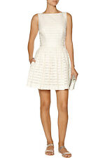 NWT THAKOON SZ 4 ADDITION LACE IVORY DESIGNER DRESS  INFORMAL WEDDING DRESS $595