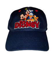 Disney Characters Mickey Goofy Donald Pluto Adult Adjustable Baseball Cap
