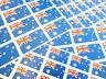 Australie autocollantes Drapeau étiquettes auto-adhésif Stickers