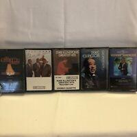 Duke Ellington Glenn Miller The Mills Brothers Henry Mancini 5 Cassette Lot
