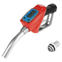 "Pistola Travaso Gasolio Benzina Diesel Digitale 1"" Erogatore Carburante 75L/M"
