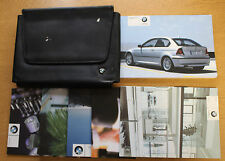 BMW 3 SERIES E46 COMPACT HANDBOOK OWNER MANUALS WALLET 2001-2004 PACK 15334