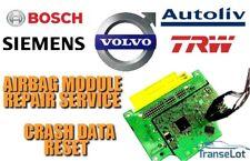 VOLVO V40 CROSS COUNTRY P31406534 AIRBAG SRS MODULE CRASH DATA RESET SERVICE