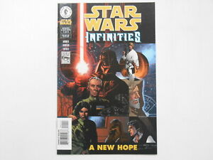 Star Wars - Infinities: A New Hope #1-4, (DH), 7.5 VF- to 9.0 VF/NM