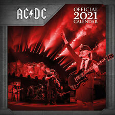 AC/DC 2021 Calendar 30cm x 30cm *OFFICIAL PRODUCT, NEW & SEALED*