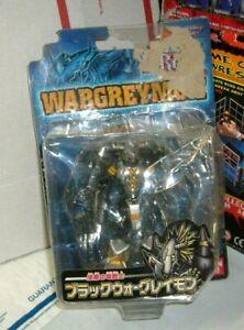 2000 Bandai D-Real DREAL Digimon Black Wargreymon Figure New (damaged tear)