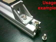 Aluminum T-slot 3030 profile socket cap bolt screw M6x12mm, 24-set