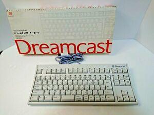 Dreamcast KEYBOARD White HKT-7600 SEGA DC Japan Box