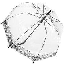 Dr. Neuser Stockschirm Regenschirm Glockenschirm Schirm Durchsichtig Transparent