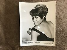 Dionne Warwick Original Advertising Photograph Scepter Recording Artist P Cantor
