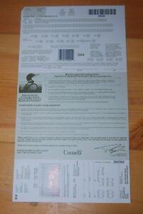 Weeda Canada FWH20 VF unused license with $8.50 Mallards 2004 Duck Stamp CV $25+