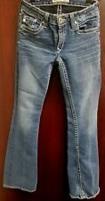 Buckle Big Star Jeans Size 29L x 27.5 W Embellished pocket Boot Low Rise Womens
