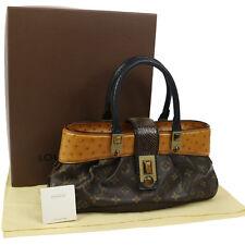 Auth LOUIS VUITTON DORA Hand Bag Monogram Waltz EXCELLENT M95089 V14603