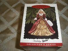 1996 Nib Hallmark Keepsake Collector Holiday Barbie T9822
