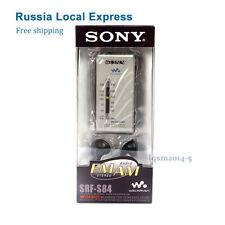 RU Shipping Sony stereo SRF-S84 radio FM/AM Super Compact Radio Walkman -Silver
