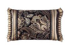 J. Queen New York Valdosta Black Boudoir Pillow
