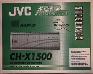 JVC CH-X1500 CD CHANGER 12 DISC