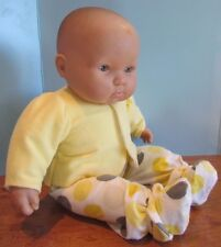 """baby doll clothes 3 piece yellow pajamas fits 20-22"""" dolls"""