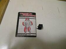 Transformers G1 Jetfire Lot Instruction Booklet & Gun Clip w Stress Mark