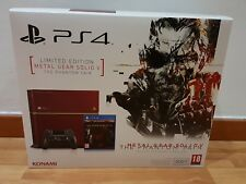 CONSOLE SONY PS4 GB LIMITED EDITION METAL GEAR SOLID V PLAYSTATION 4 ROSSA ITA