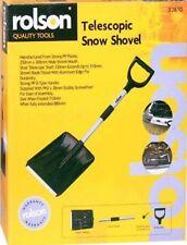 Rolson lightweight snow shovel metal aluminium large plastic handle FREE POSTAGE