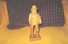 Vintage German Man Wood Carving Holzschnitzei/Woodcarver Hein Triberg/Schwarzw