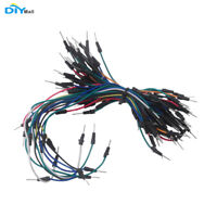 65pcs Solderless Flexible Breadboard Jump Cable Wires Male to Male for Arduino