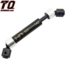 Hot-Racing SCP37VM Steel Center Drive Shafts 107-142mm Axial SCX10  Free Track#