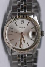 Rolex Tudor Prince OysterDate solid Gold Bezel REF. 75204 34mm Watch - Nice Ex+!