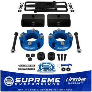 """3"""" Front 2"""" Rear Lift Kit + Diff Drop For 2007-2020 Toyota Tundra"""