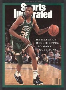 Boston Celtics Sports Illustrated Reggie Lewis 1993 No Label