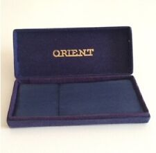 Scatola ORIENT Vintage Watch Box Blue 6 14 cm